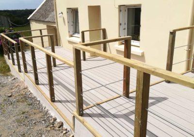 Terrasse en 3 paliers